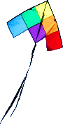 Patchwork 2' Delta Kite