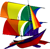 3D Colorful Ship