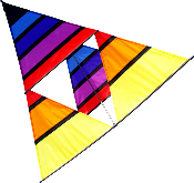 Pyramid Box Cellular Kite