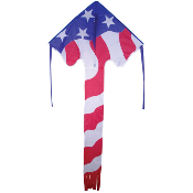 Patriotic American Flag Large Easy Flyer Kite