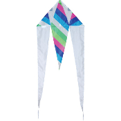 Calypso Stripe Mini Flo-Tail Delta Kite